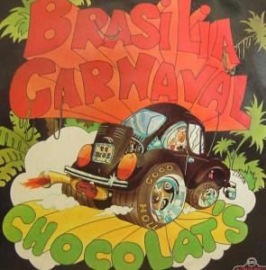 pochette d'époque de brasilia carnaval